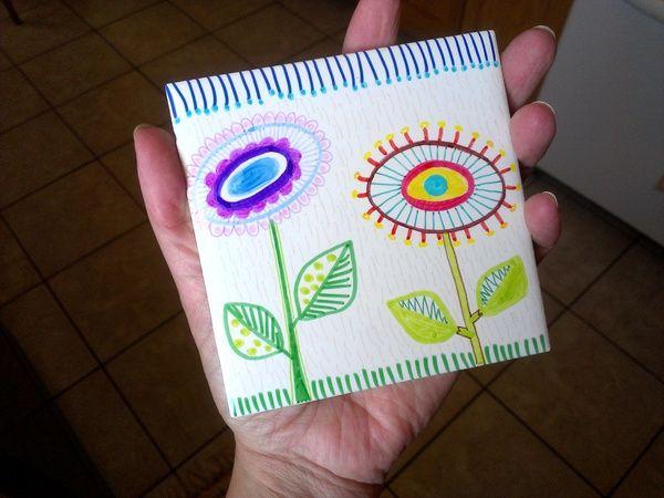 Oltre 1000 idee su Piastrelle Dipinte su Pinterest  Piastrella ...