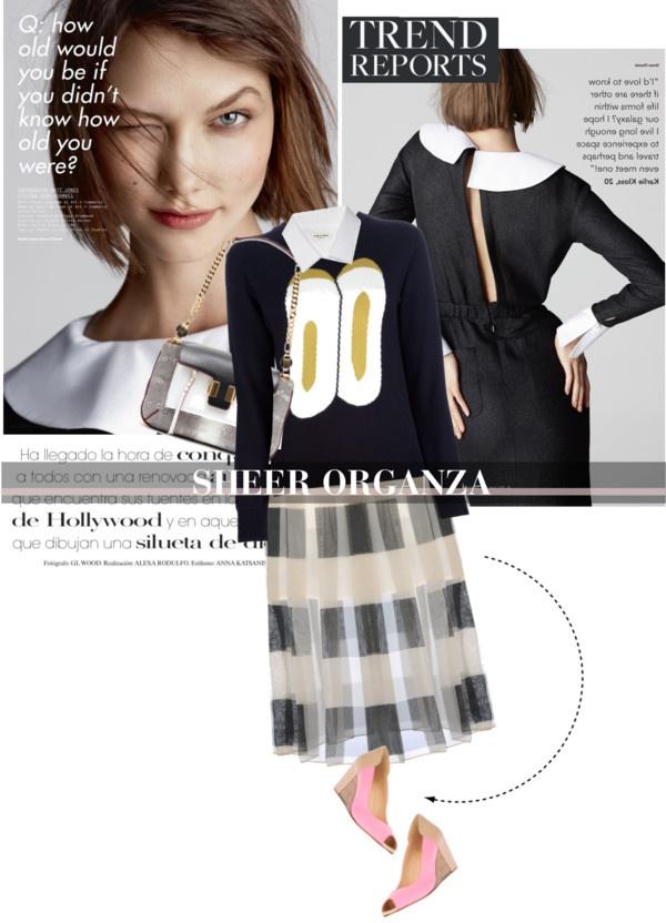 Spring Trend Sheer Organza Spring trends, Fashion