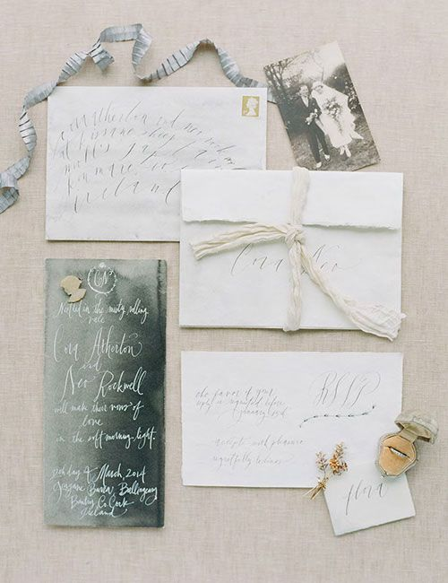 whimsical wedding stationery from stephanie fishwick