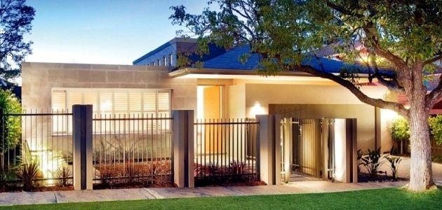 Exterior Home Design One Story