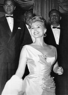 Zsa Zsa Gabor (born 6 February 1917) /ˈʒɑːʒɑː ɡəˈbɔər/ is a Hungarian-born American socialite and actress who acted in supporting roles in movies, on Broadway, and occasionally on television.