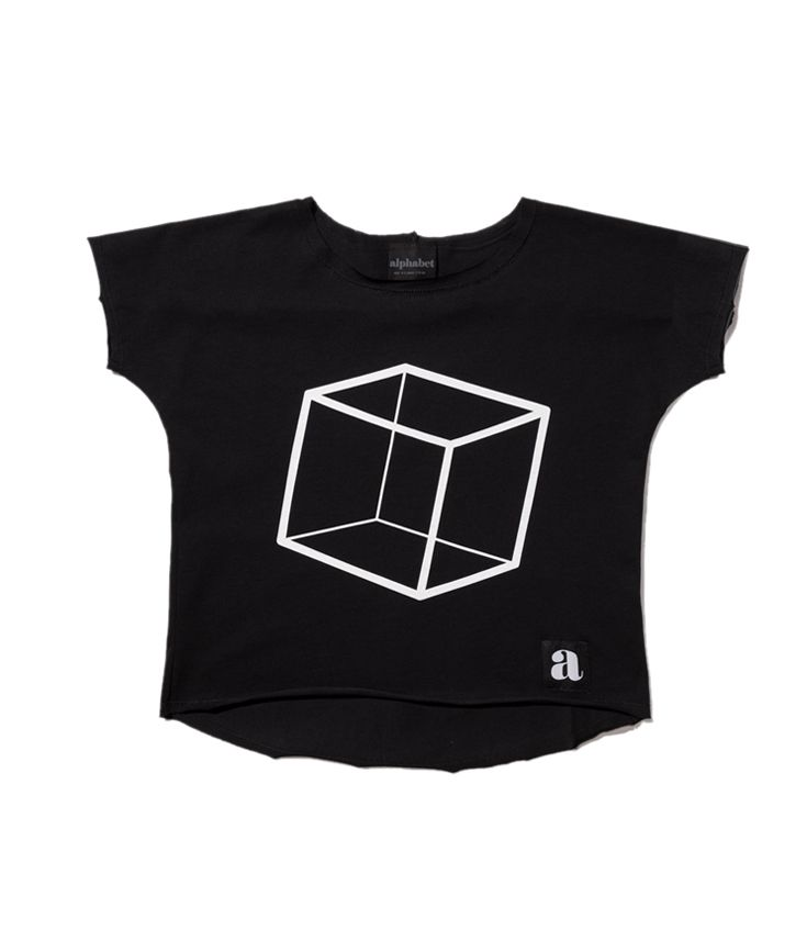 Cube black t-shirt