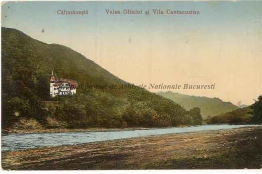 BU-F-01073-5-00259 Călimăneşti,Valea Oltului şi Vila Cantacuzino, s. d. (sine dato) (niv.Document)
