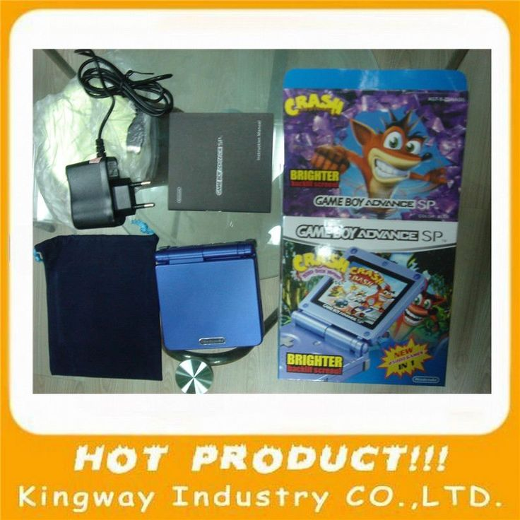 Portable Exhibition Game : Best ideas about nintendo gameboy advance sp on