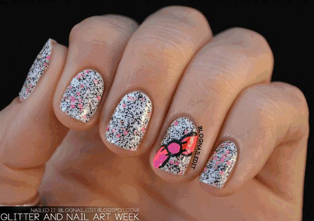 Glitter and Nail Art Week!