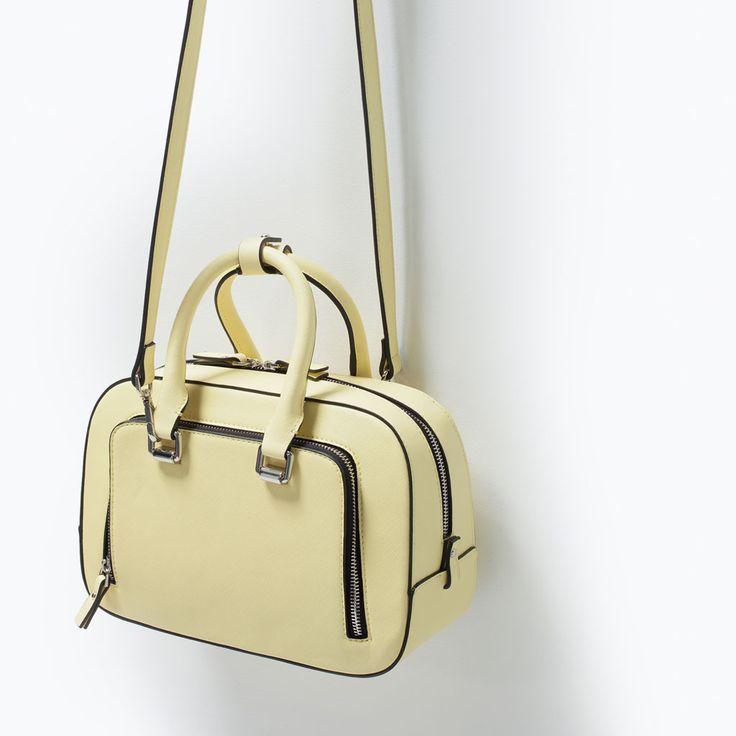 ZIP POCKET MINI CITY BAG from Zara