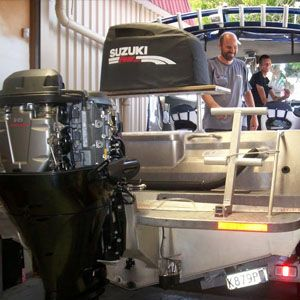 At Boat Centre Auckland we can service & repair you outboards and boat trailer. Bring in your boat & we can store it in our secure workshop while we work on it.