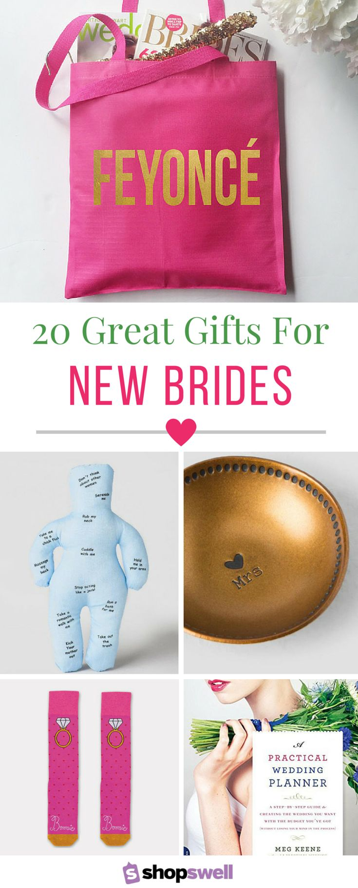 When your BFF gets engaged, you'll stop at nothing to find the chicest, most fab engagement gift possible. Choose one of these 20 gorgeous gifts for the bride and you'll likely land the maid of honor of the year award.