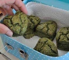 These muffins turned out green, really, really green. The kind of green that Popeye would finish in a heart bit to get stronger. Which inspired me to go search the web for a nice Popeye eating spinach link, however while searching for that, I found out about some very... #chard #cheease #muffins