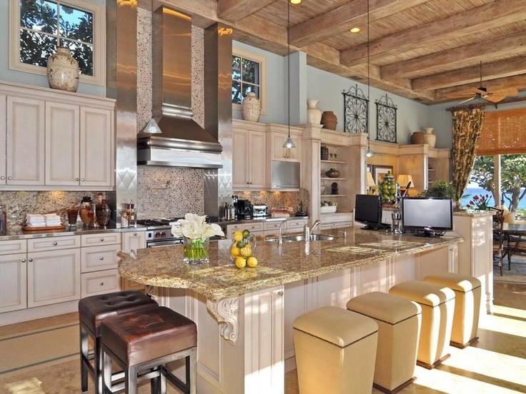 Florida Kitchens On Pinterest Mansions Land 39 S End And Kitchen Bars Florida House Traditional