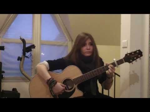 Adele - Someone Like You Cover by Tina S. 3 years ago - YouTube.  [Just close your eyes and listen to her play. It will move you.]