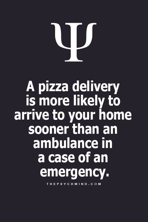 Pizza Delivery Man, he was always there