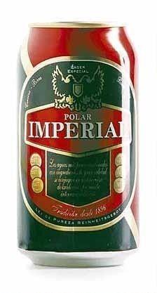 Cerveja Polar Imperial, estilo Premium American Lager, produzida por Cerveceria Austral, Chile. 4.6% ABV de álcool.