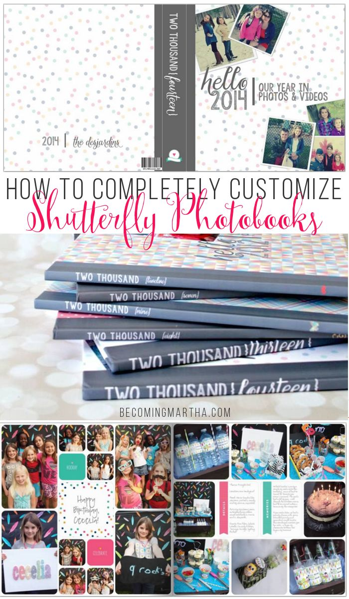 Creating Custom Family Photobooks Part V