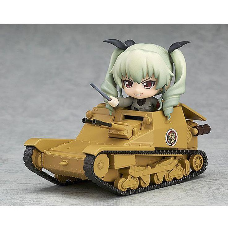 Girls und Panzer der Film Nendoroid More : Carro Veloce CV-33 (L3/33)