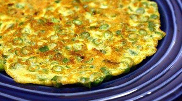 Εντυπωσιακή στο πιάτο, υπέροχη σε νοστιμιά… δοκιμάστε τη και δεν θα το μετανιώσετε…. τα φρέσκα κρεμμυδάκια της δίνουν την όψη τηςπίτας και την υπέροχη γεύση!!!! ΥΛΙΚA 10 φρέσκα κρεμμ…