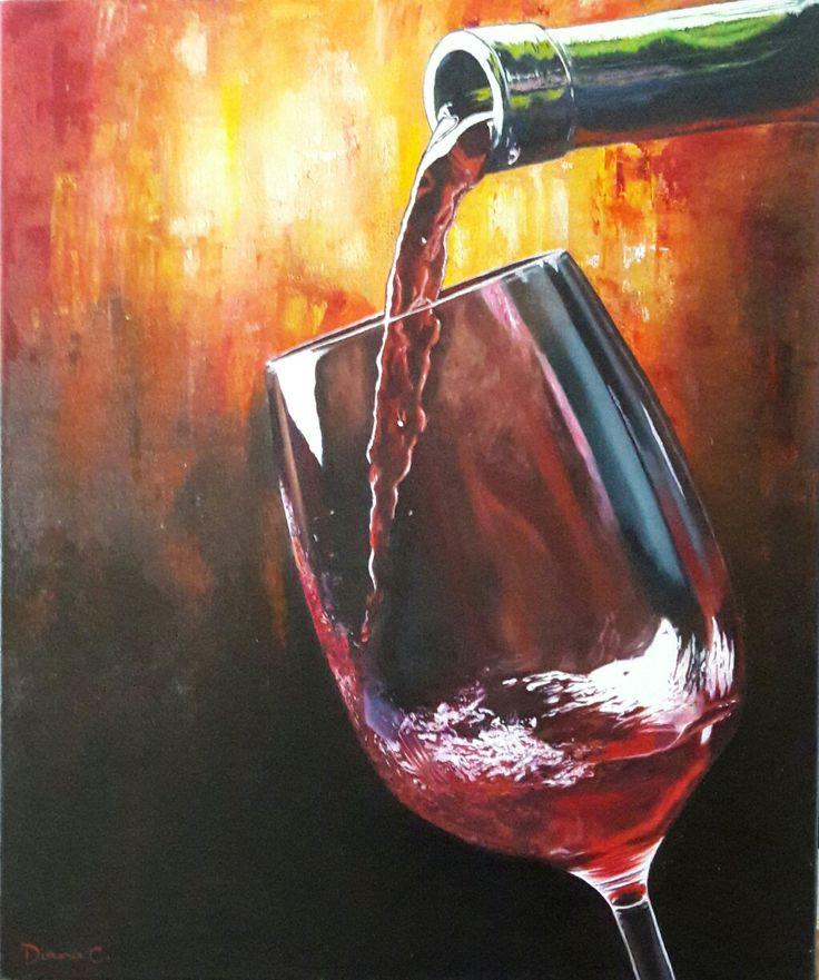 #vino #tinto #oleo