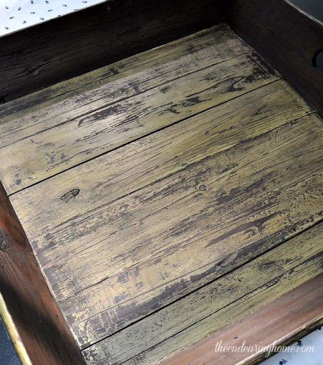 Diy How To Get This Weathered Wood Paint Finish Using