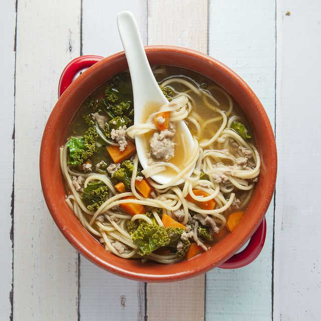 Chinese Vegetable Noodle Soup: Try this delicious and easy to make noodle soup, it's even better than Takeout!
