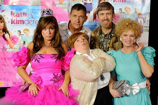 Kath and Kim, Sharon, Bretty and Kel