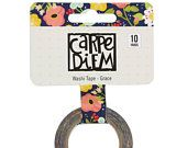 Floral Washi Tape, Carpe Diem, Grace, Faith Collection, Decoration for journal, bible journals, Illustrated faith, Bible Journaling,