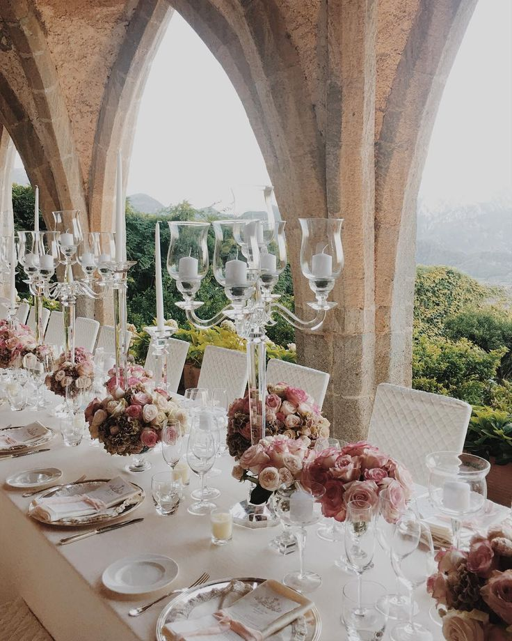 Natalie and Darren - romantic summer wedding at @villacimbrone Planning and design @exclusiveitalyweddings  Florals @malafrontefiori  With the super talented @carlocarletti and @marcocaputofilms  @shhhmydarling  #luxurywedding #exclusiveitalyweddings #destinationwedding #italyweddings #weddingdecor #flowerdesign #italyweddingplanner
