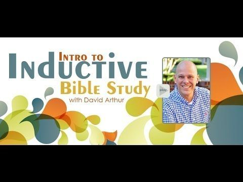 Introduction to Inductive Bible Study, EXCELLENT Video. My daughter Rebecca (aka WellPlannedGal)'s company created it to explain the Inductive Bible Study Method. I took the Kay Arthur with Precepts Ministry class about 20 years ago now I combine it with