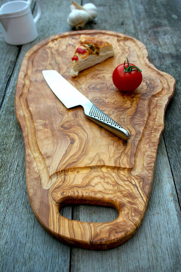 Really Rustic Kitchen Designs| Serafini Amelia| Rustic 50cm Chopping Board with Jus Groove by The Rustic Dish