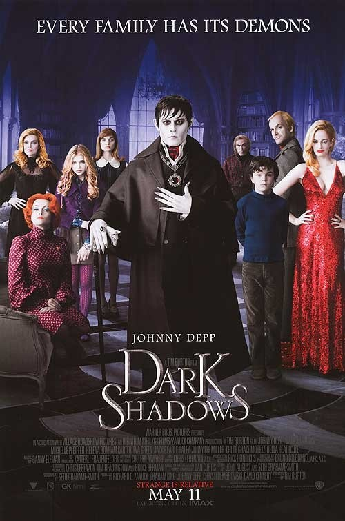 I was very excited for this movie to come out but it didn't met my expectations. I still enjoyed it but not my favorite tim burton movie.