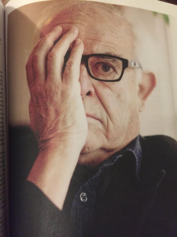 Ralph Steadman in Monocle magazine - photo by Benjamin McMahon.