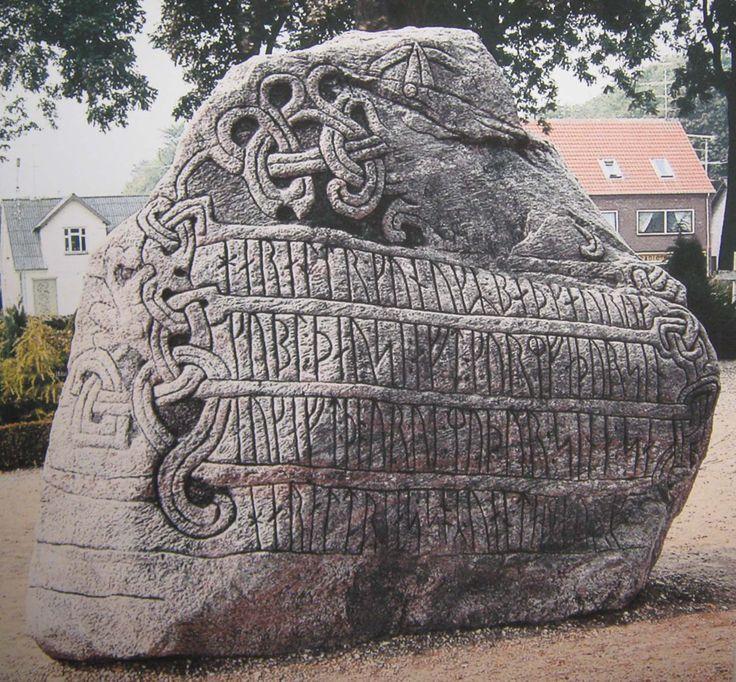 Rune stone, Denmark: Jell Stones, Runes Stones, Jelling Stones, Runestones