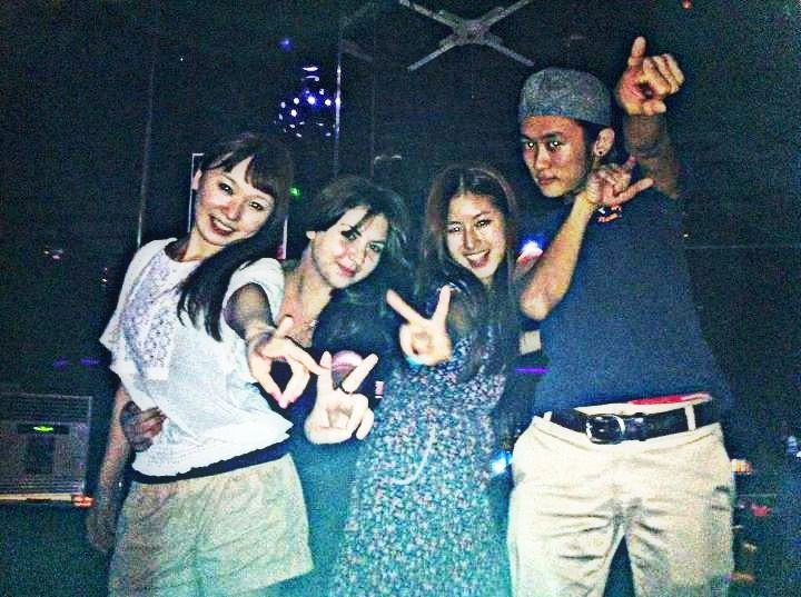2011.08 #southkorea with japanese friends