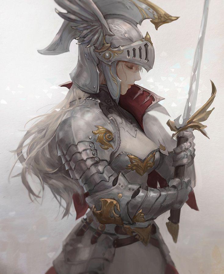knight, Chocofing R on ArtStation at https://www.artstation.com/artwork/aqNrJ