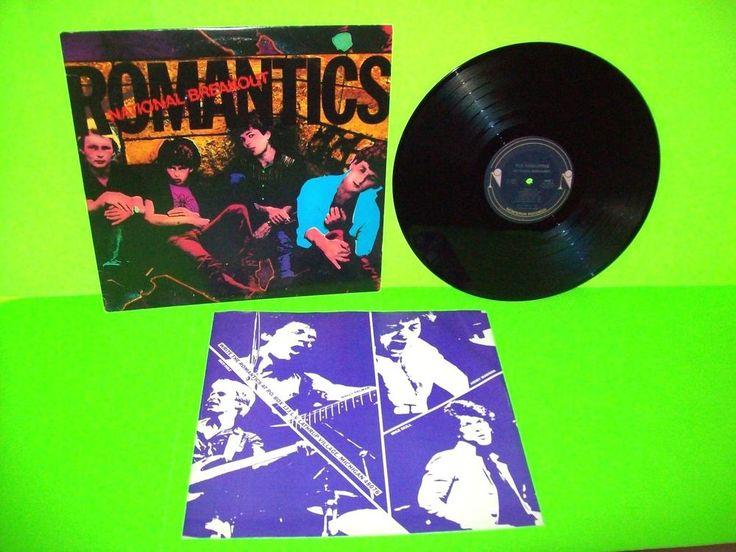 The Romantics – National Breakout Vinyl LP Record Album Power Pop New Wave 1980 #1980sNewWavePopRock