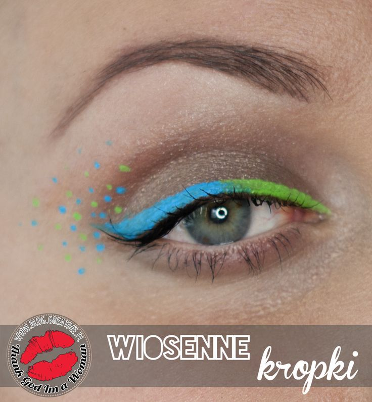 Make-up: Wiosenne kropki