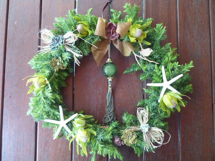 Christmas Wreath by Kent Florist Mikiko Inoue