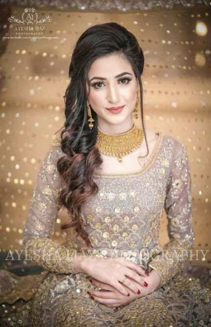 38 Super Ideas Bridal Pakistani Hairstyles Indian Fashion