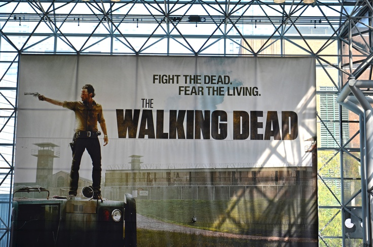The Walking Dead Poster at Comic-Con 2012