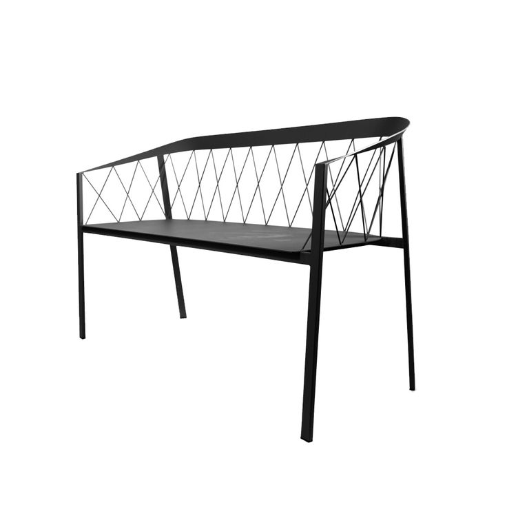 Our Bench Net soffa - Our Bench Net soffa - 2,5-sits black