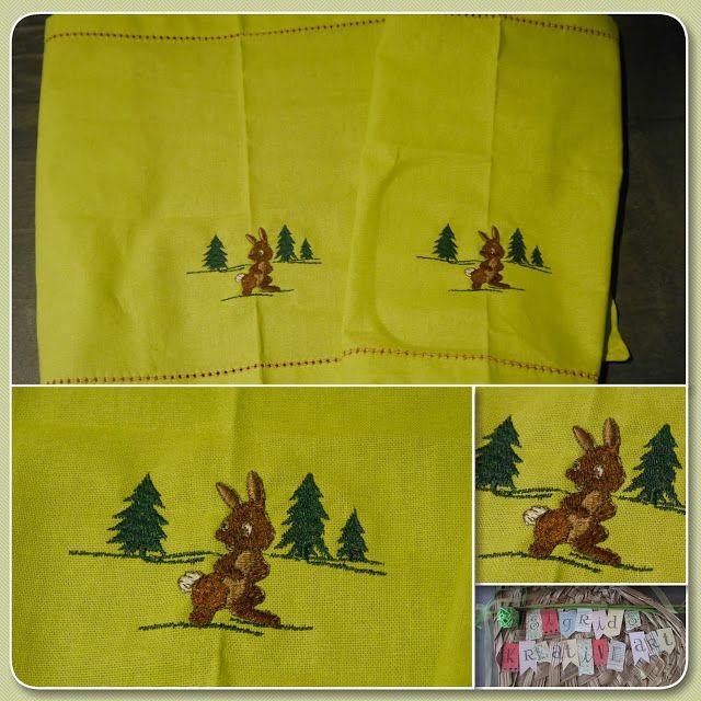 Sigrids kreative ART: Ein Häschen steht im Walde ...