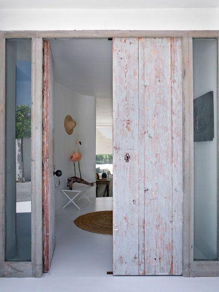 M s de 25 ideas incre bles sobre puertas de entrada en for Puertas antiguas dobles