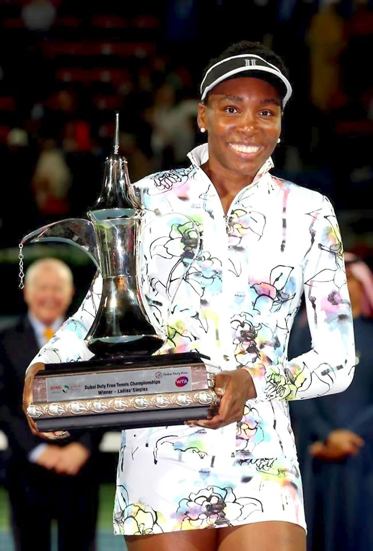 Dubai 2014: VENUS WILLIAMS WINS DUBAI CHAMPIONSHIPS 2014!!! .... Wild Card Venus Williams crushed Alizé Cornet with a #BAGEL in straight sets, 6-3, 6-0 to win her 1st FINAL of 2014 & Career 45th Title. 2/22/14 <3 #TEAMVEE