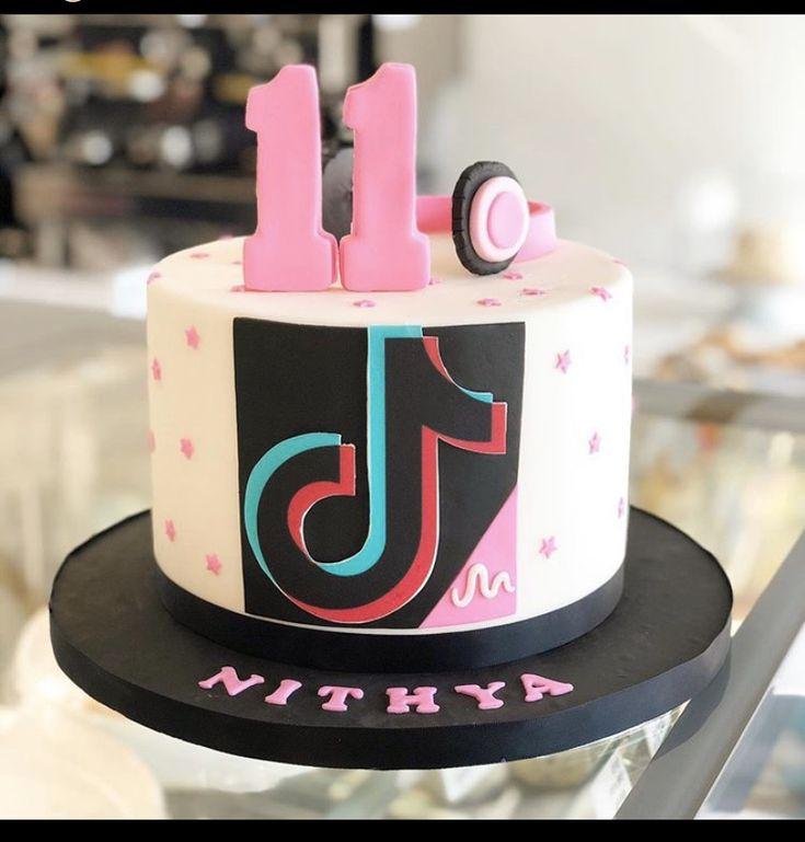 13 Cute Tik Tok Cake Ideas (Some are Absolutely Beautiful ...   Tiktok 10th Birthday Cake