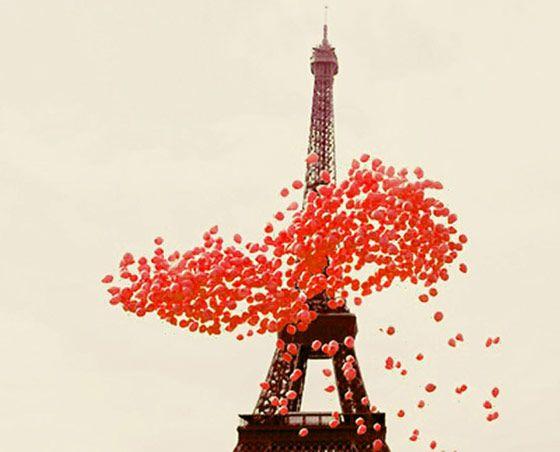balloons!: Tours Eiffel, Pink Balloon, Oneday, Eiffel Towers, Pink Paris, Paris France, Red Balloon, Pinkballoon, Paris Love