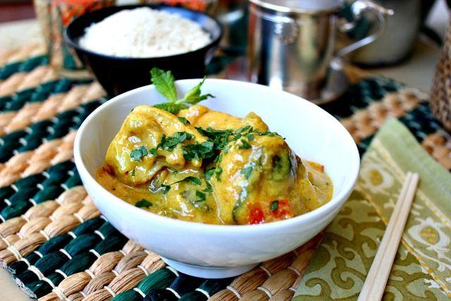 Pollo al curry con leche de coco | El Blog de Clara P. Villalón