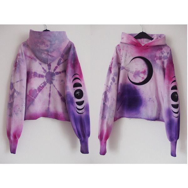 mad mOOnwitCh pastel tie dye hoodie moon hoodie {XS/S} lavender,... (£48) ❤ liked on Polyvore featuring tops, hoodies, pink hoodie, galaxy hoodie, pink hoodie sweatshirt, purple sweatshirt and pink hooded sweatshirt