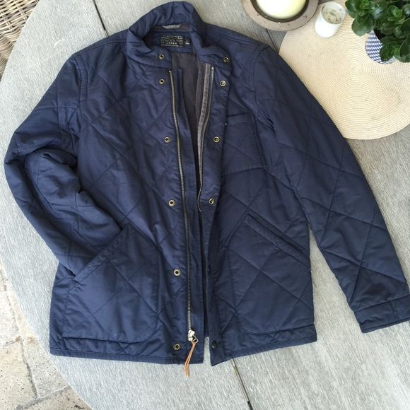 J.Crew Quilted Jacket w/ Thermal Insulation WORN ONCE, quilted jacket, thermal insulation, comfy fit J. Crew Jackets & Coats