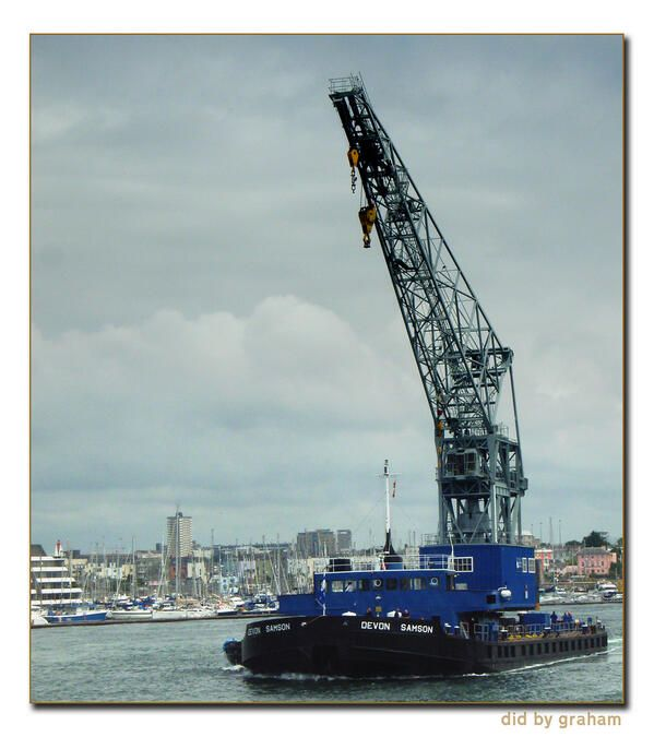 PLA floating crane &qu...