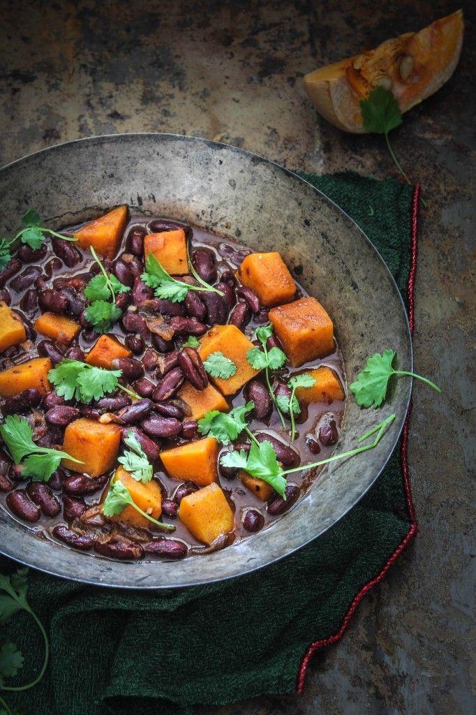 Red Kidney Bean and Pumpkin Stew