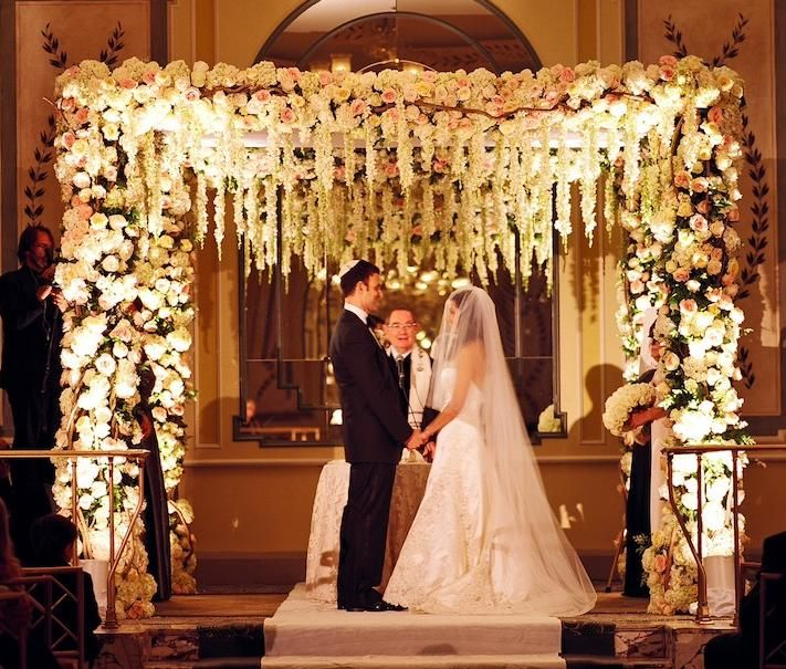 Garden Inspired Chuppah Wedding Canopy